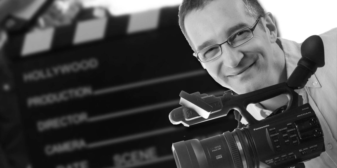 Andreas Harr mit Kamera