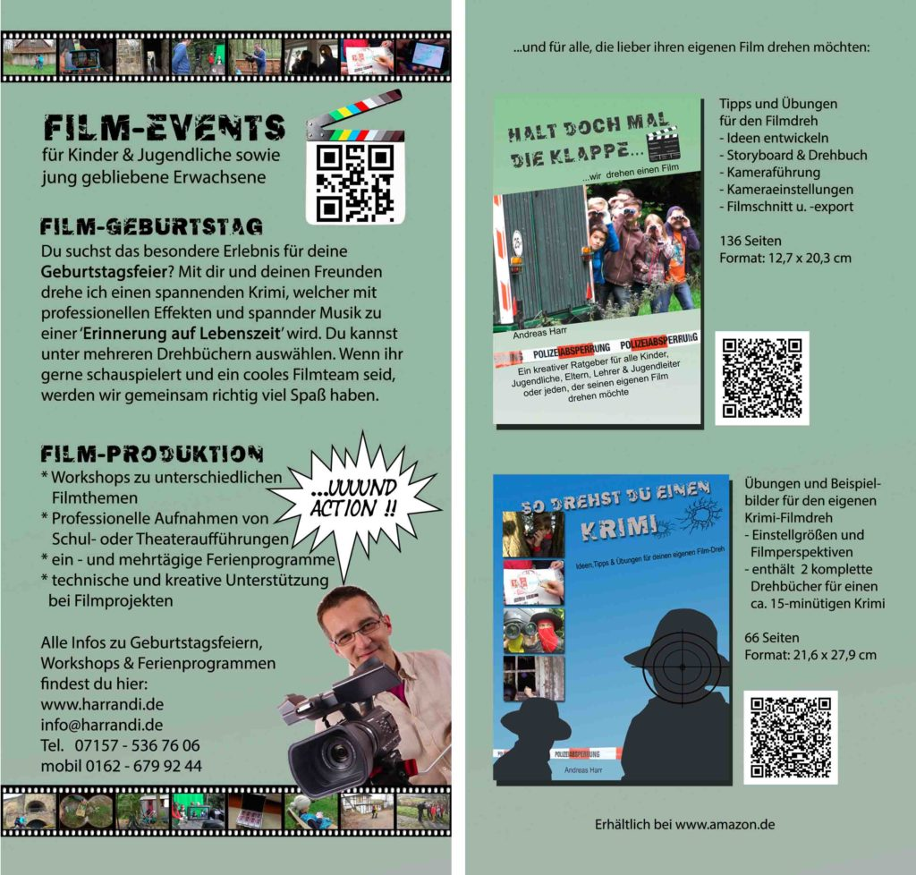 Flyer Andreas Harr film-events