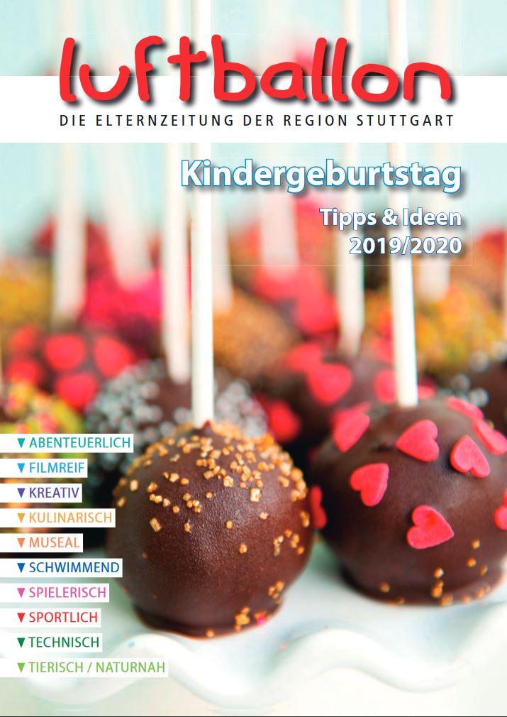 Kindergeburtstag in Stuttgart feiern, Sonderausgabe im Luftballon